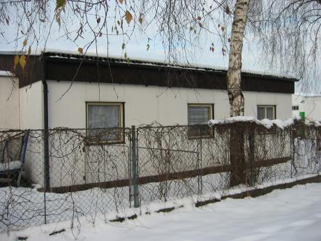Ubytovna v zimě
